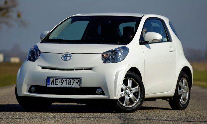 Auta miejskie - najlepszy - Toyota iQ