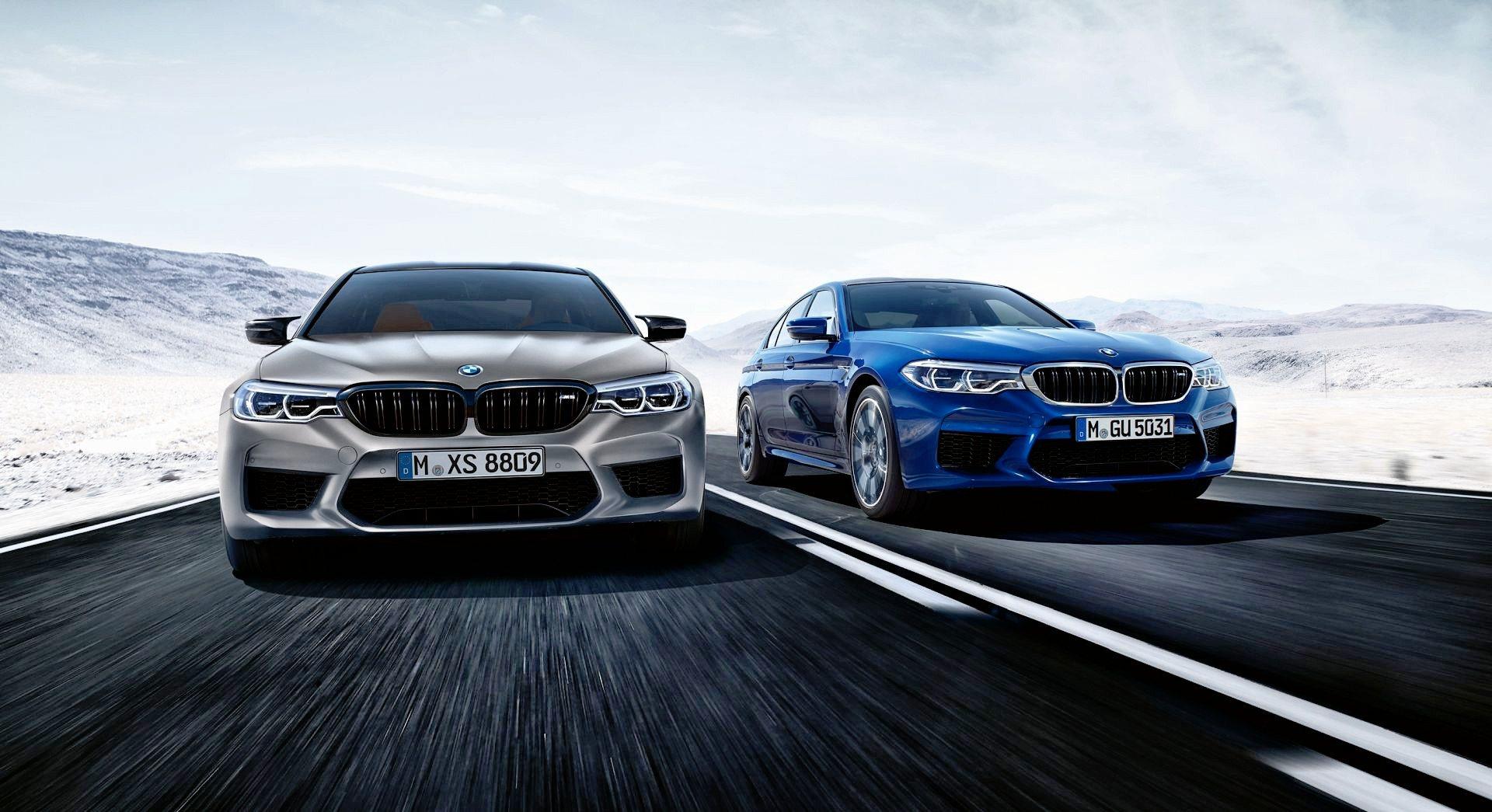 BMW M5 Competition - dynamiczne