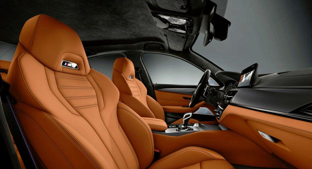 BMW M5 Competition - fotel pasażera