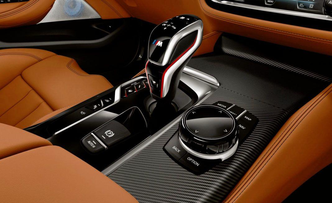 BMW M5 Competition - pokrętło xDrive