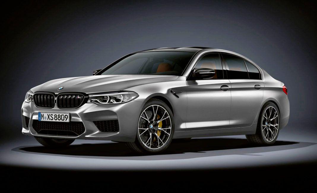 BMW M5 Competition - przód