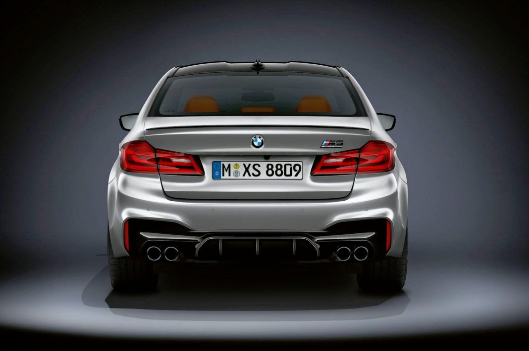 BMW M5 Competition - tył