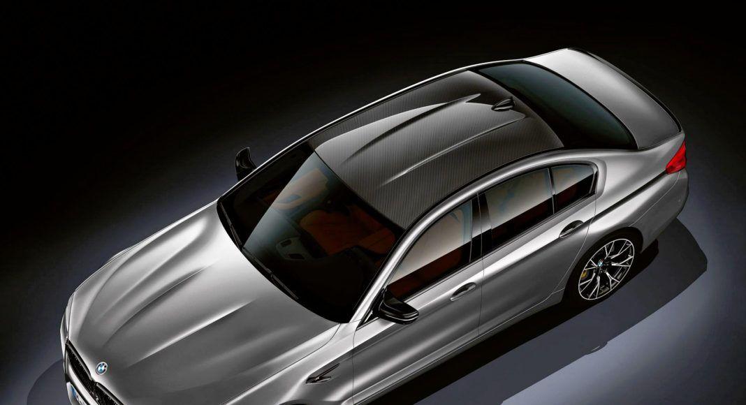 BMW M5 Competition - widok z góry