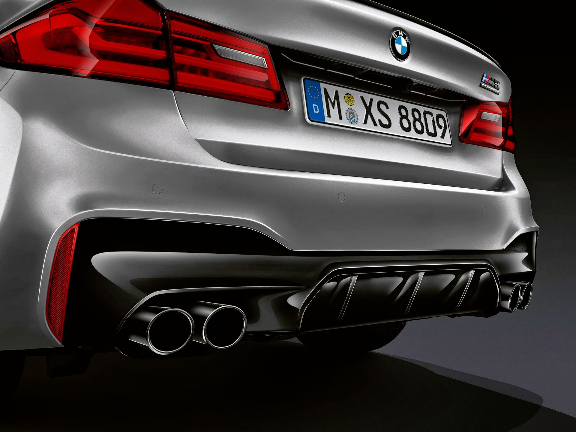 BMW M5 Competition - wydech