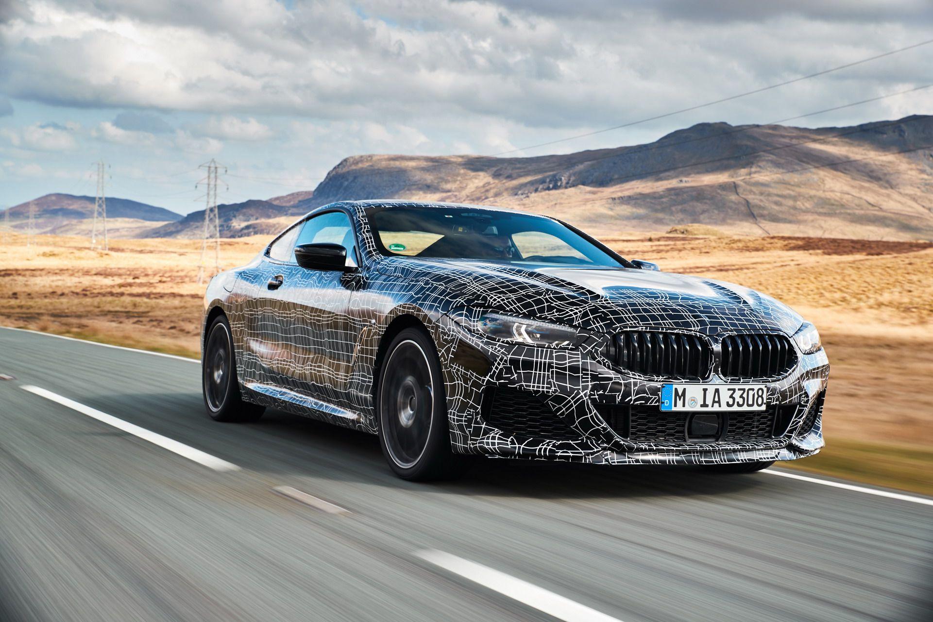 BMW serii 8 Coupe informacje i zdjęcia