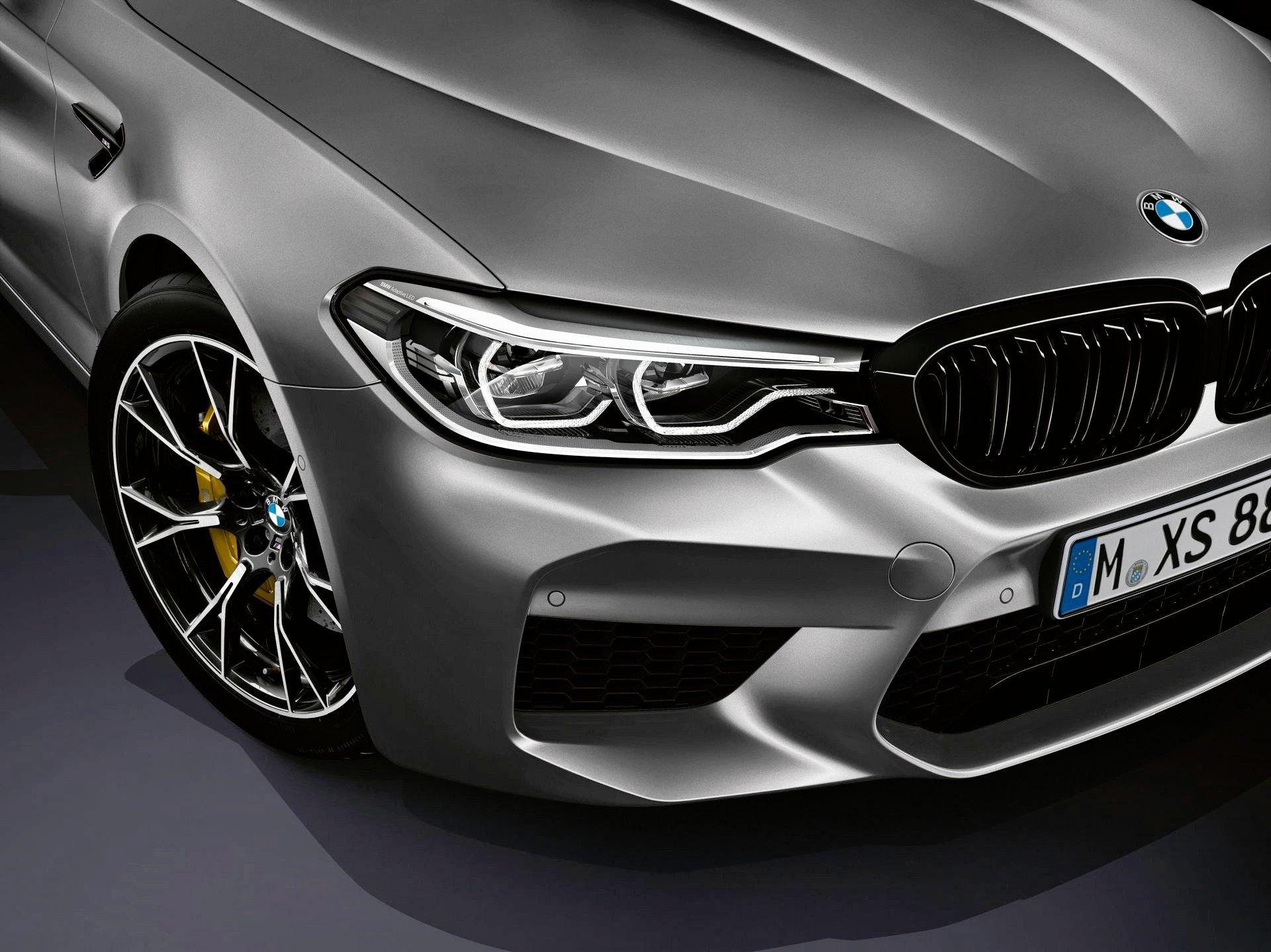 BMW Me Competition - pas przedni