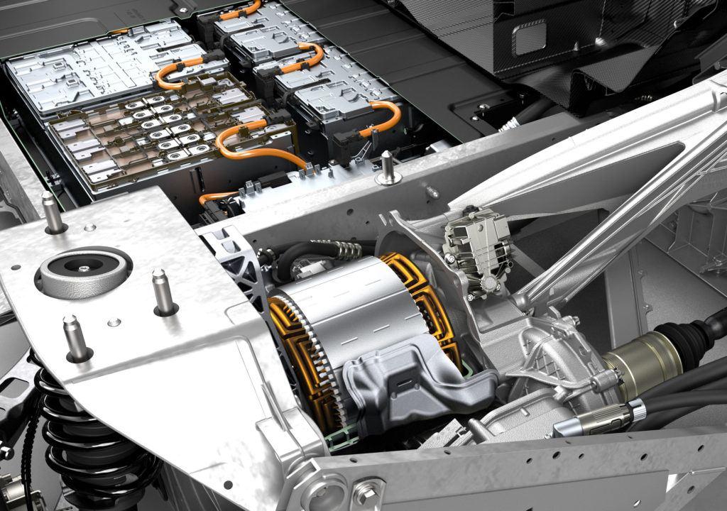 BMW i3 silnik i pakiet akumulatorów