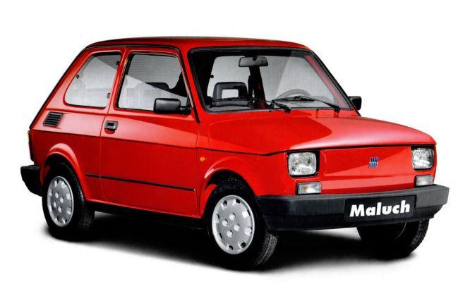Bestseller 1996 - Fiat 126 el