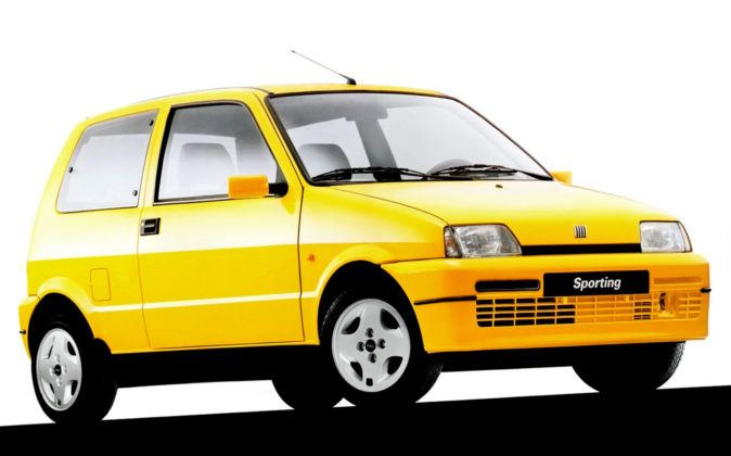 Bestseller 1997 - Fiat Cinquecento