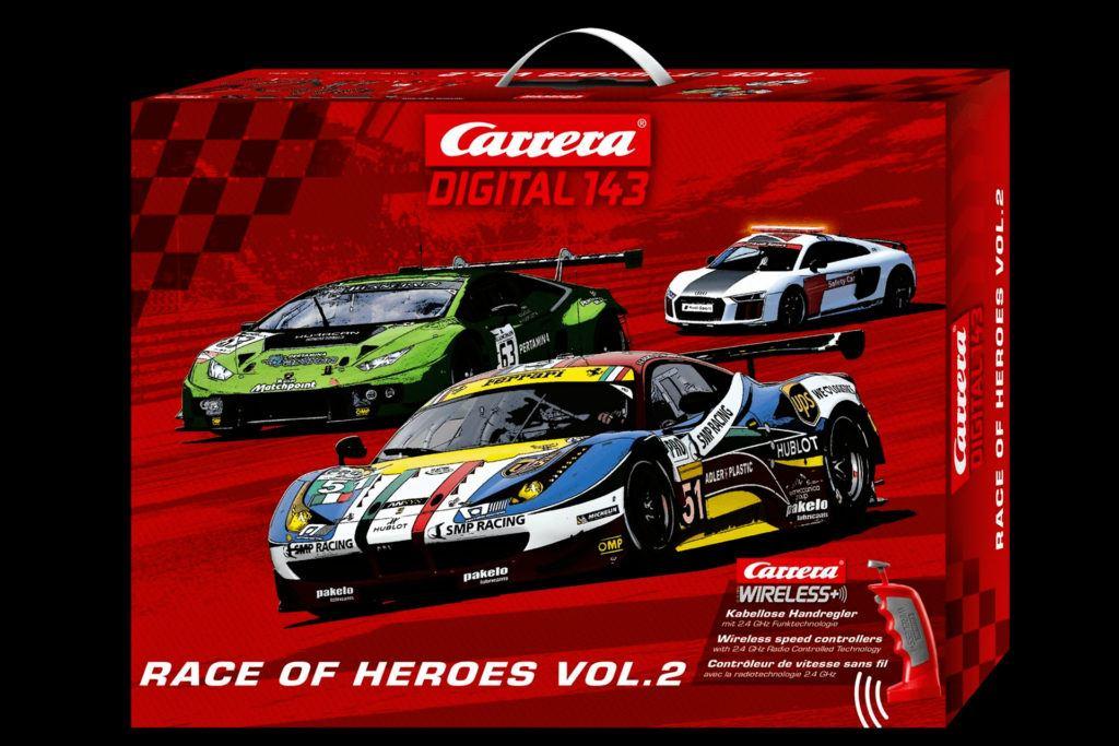 Carrera Digital 143 Race of Heroes vol. 2