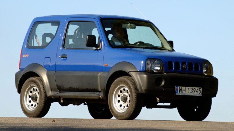 Crossovery - najlepszy - Suzuki Jimny