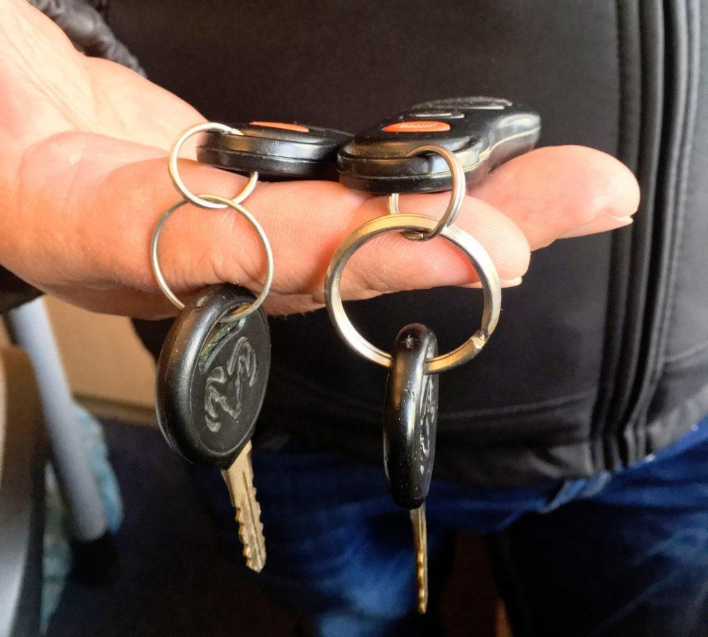 Drugi komplet kluczyków