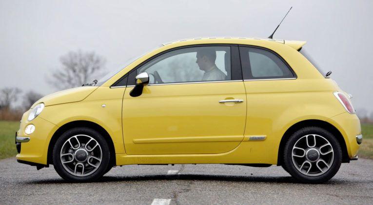 Fiat 500 - bok