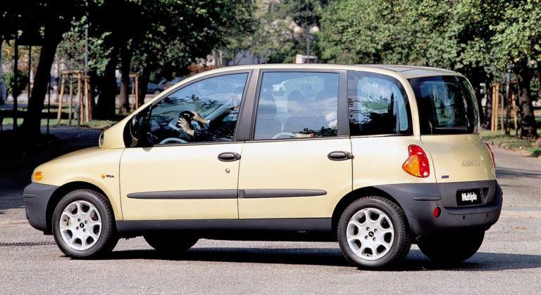 Fiat Multipla - tył