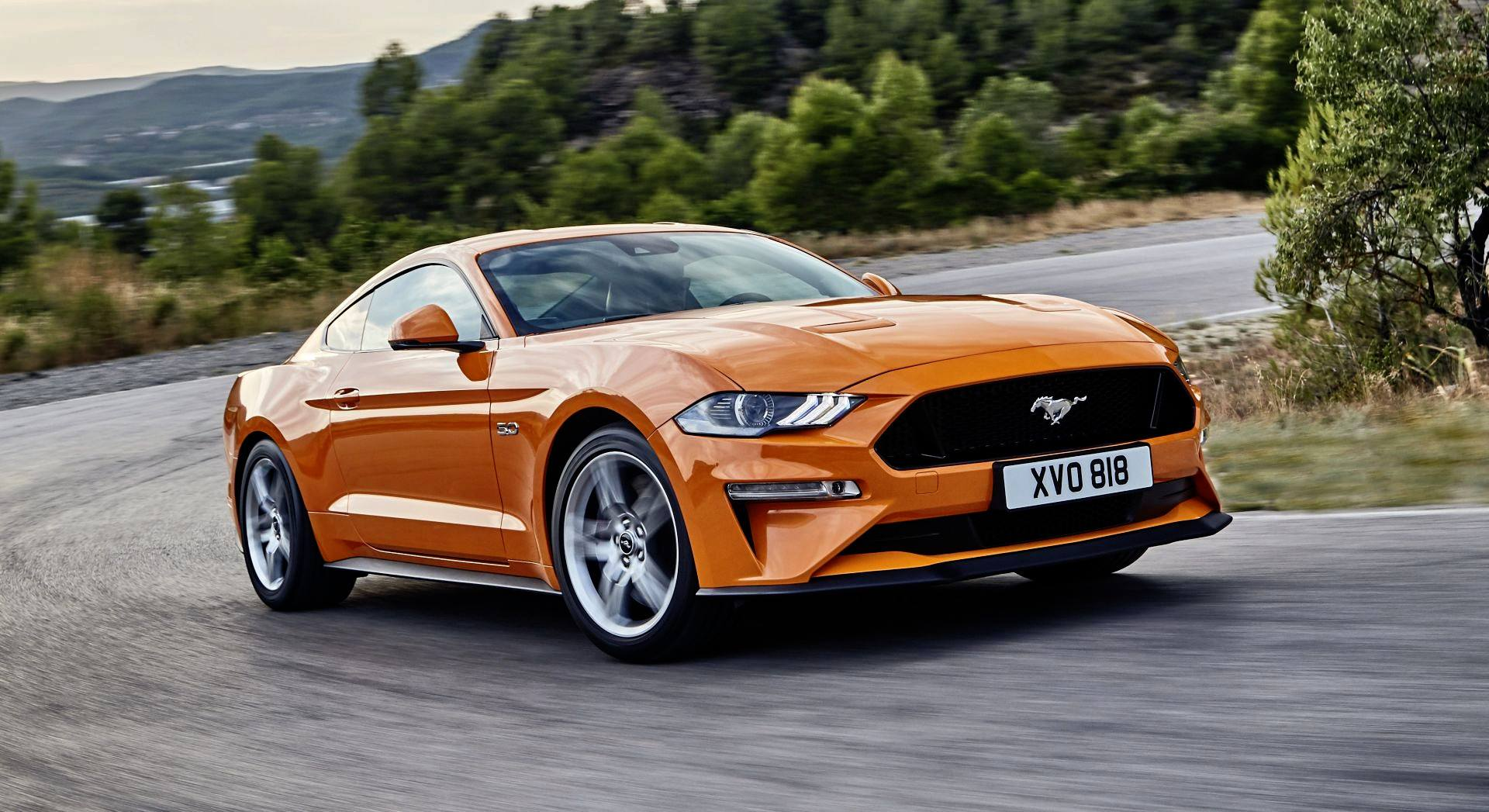 Ford Mustang - dynamiczne