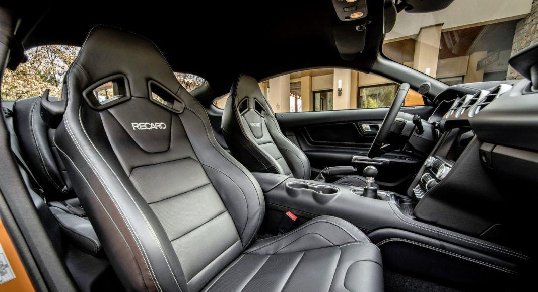 Ford Mustang FL - fotel pasażera
