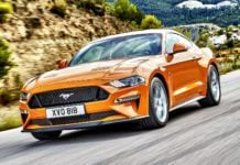Ford Mustang - otwierające