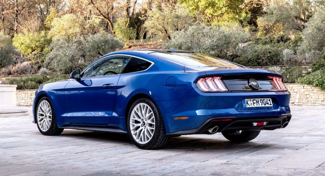 Ford Mustang FL - tył