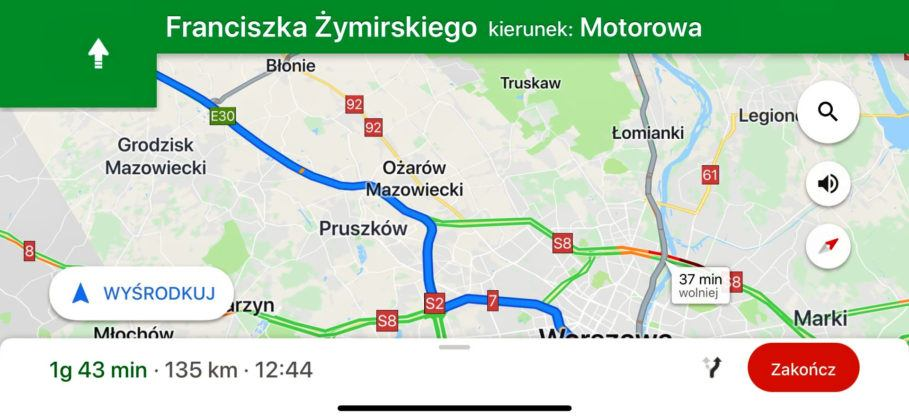 Google Maps - screenshot
