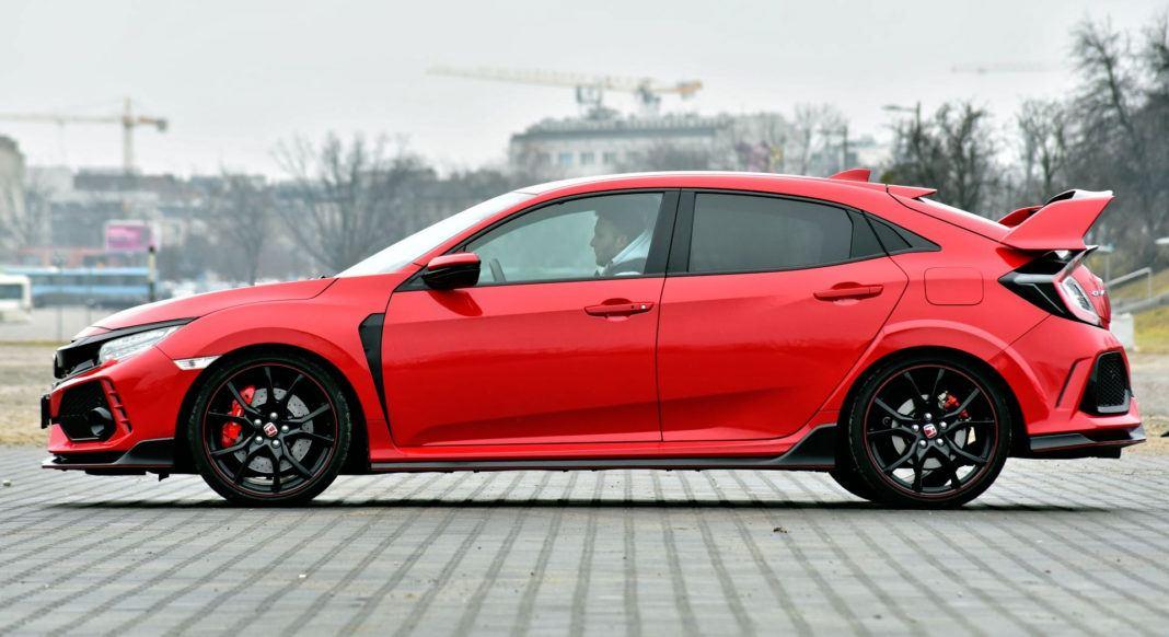 Honda Civic Type R - bok