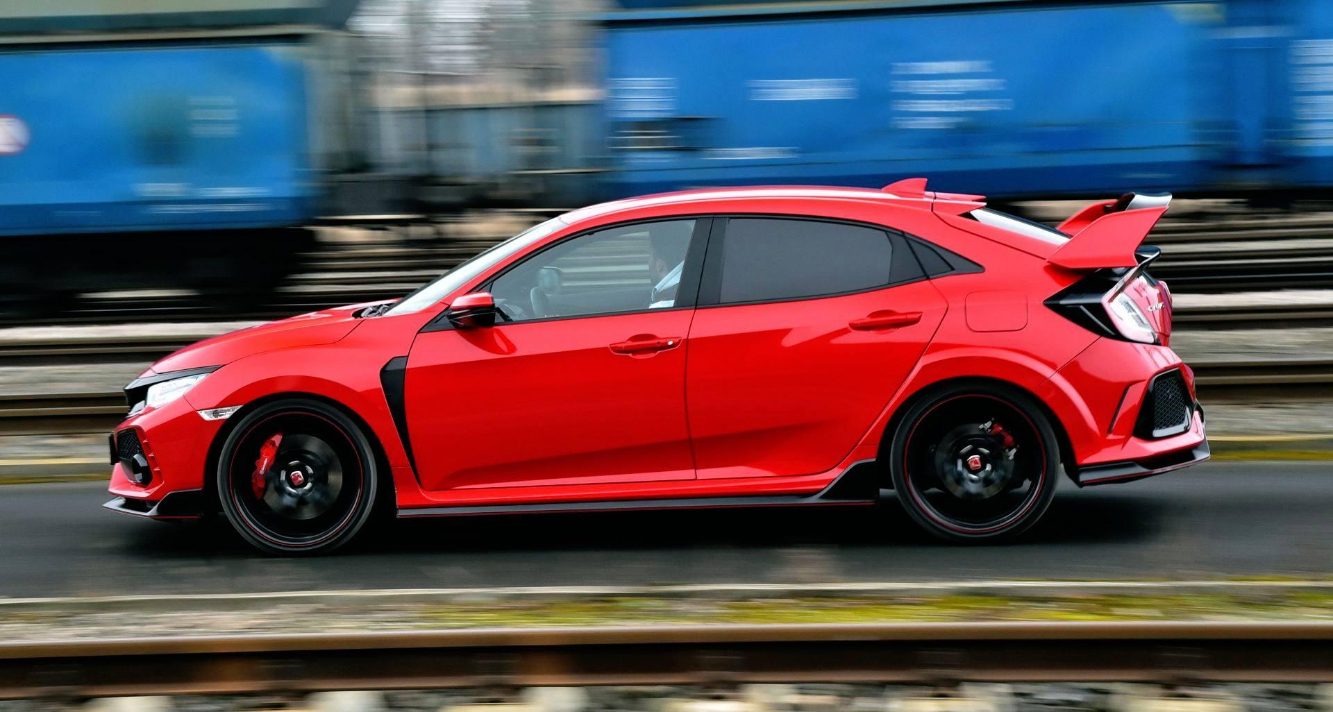Honda Civic Type R - dynamiczne