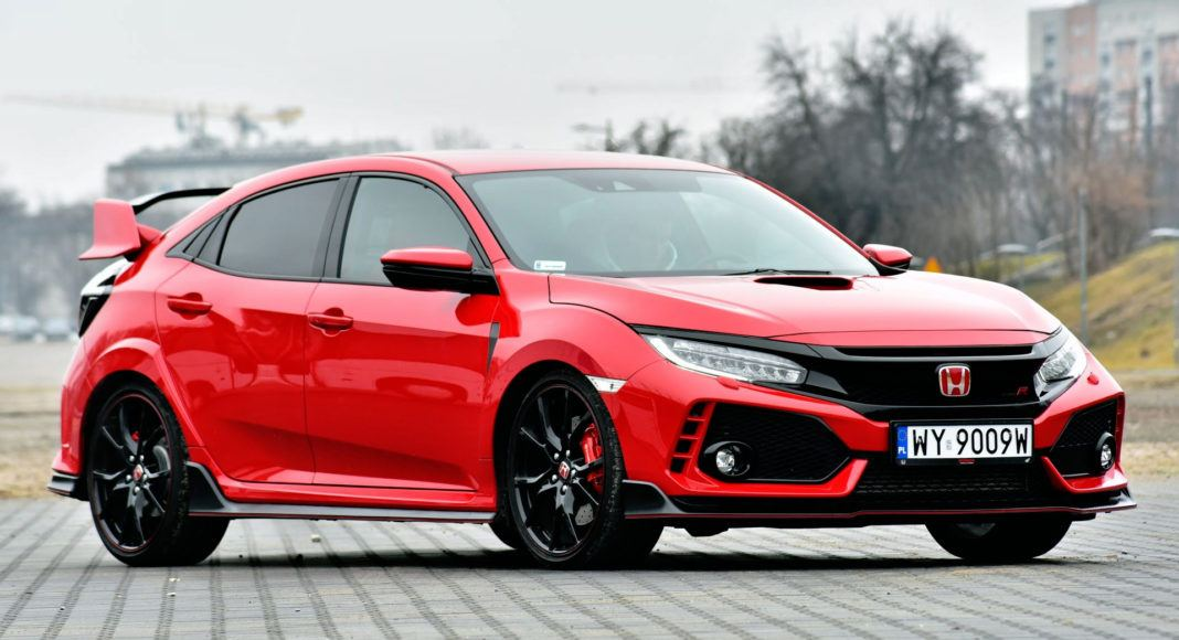 Honda Civic Type R - przód