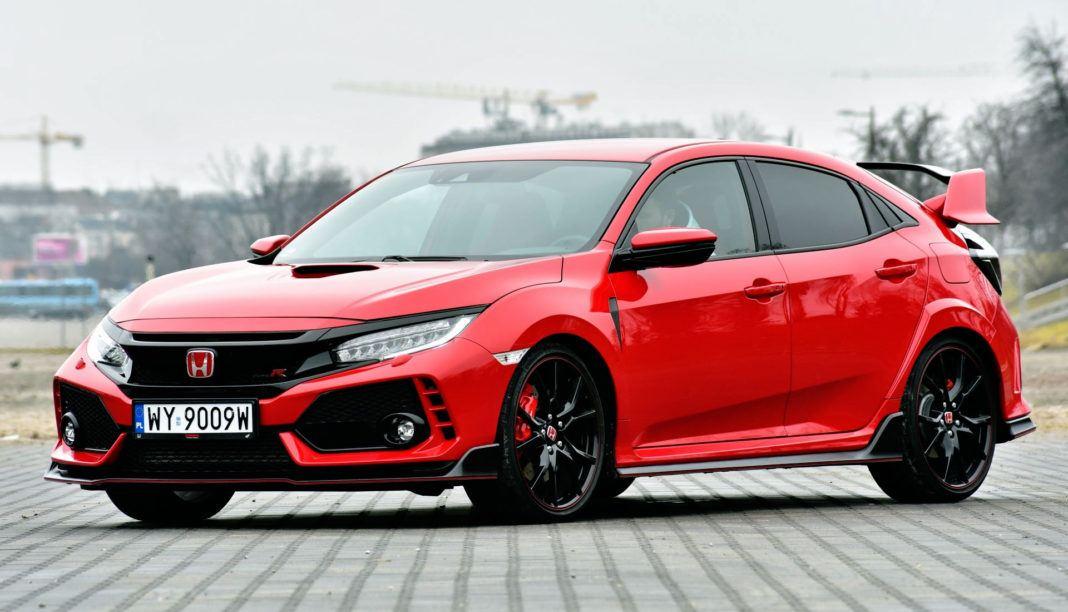 Honda Civic Type R - przód