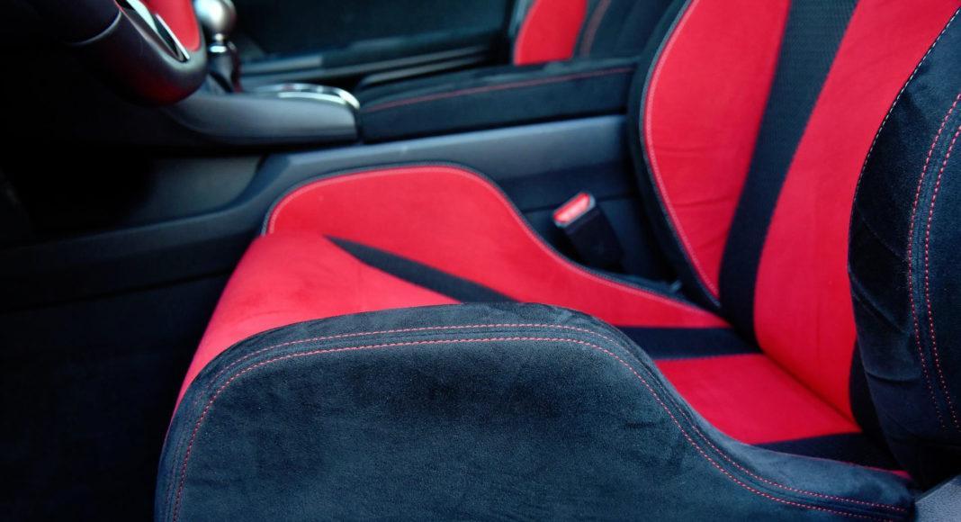 Honda Civic Type R - siedzisko