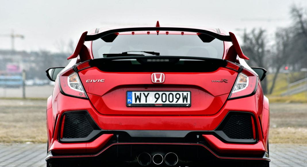 Honda Civic Type R - tył