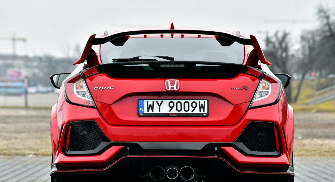 Honda Civic Type R - tył