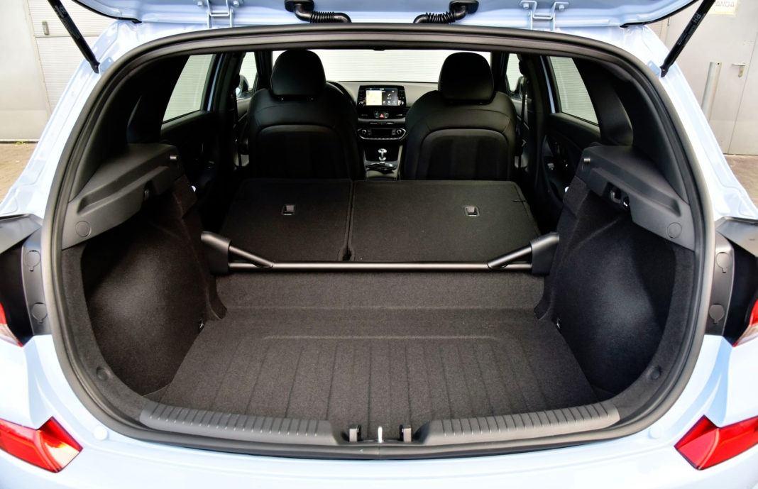 Hyundai i30 N - powiększony bagażnik