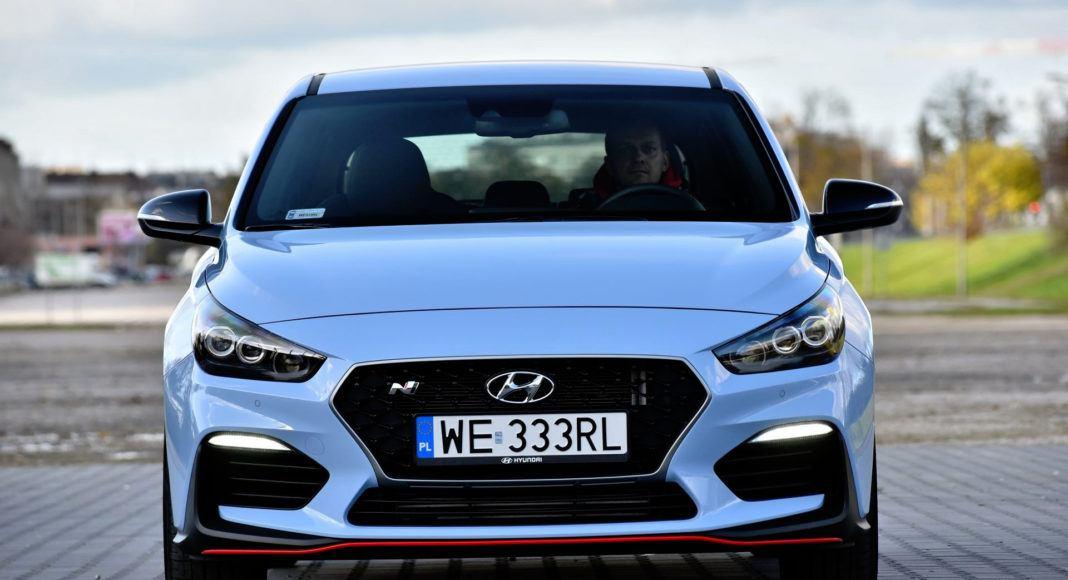Hyundai i30 N - przód