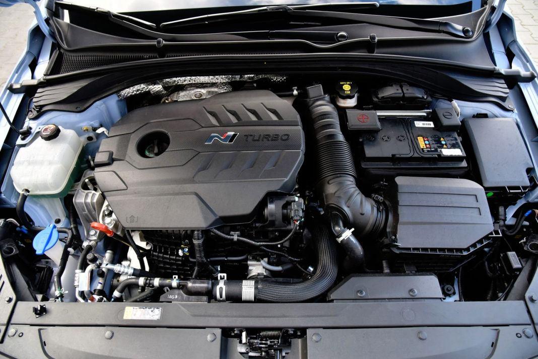 Hyundai i30 N - silnik