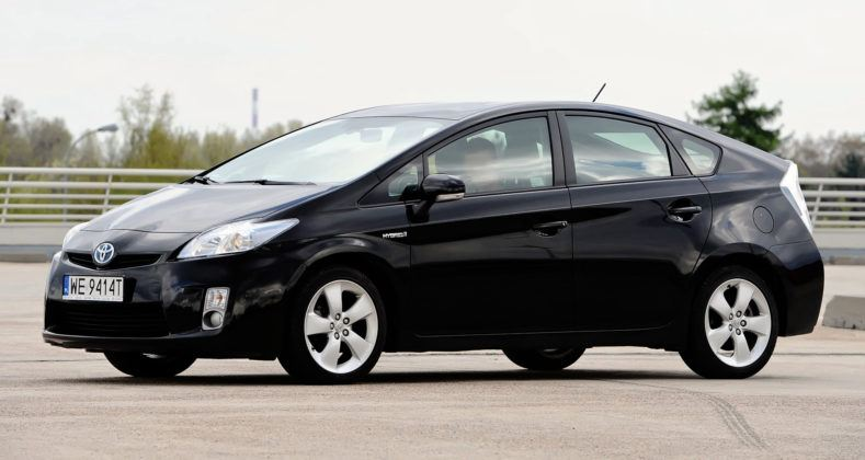 Klasa średnia - najlepszy - Toyota Prius