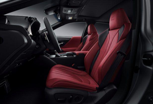 Lexus ES (2019) - wersja F-Sport - przednie fotele