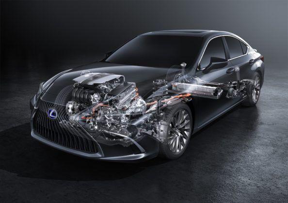 Lexus ES (2019) - wersja hybrydowa - układ napedowy