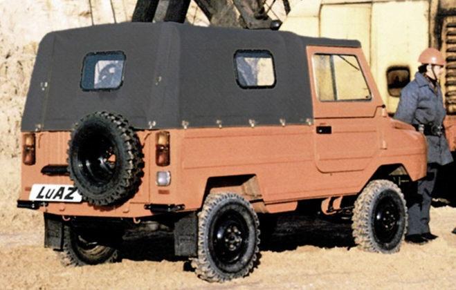 LuAZ 969 - tył