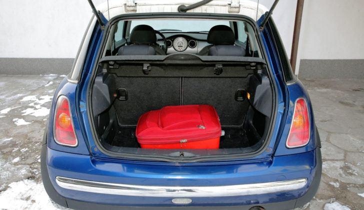 Mini Cooper - bagażnik