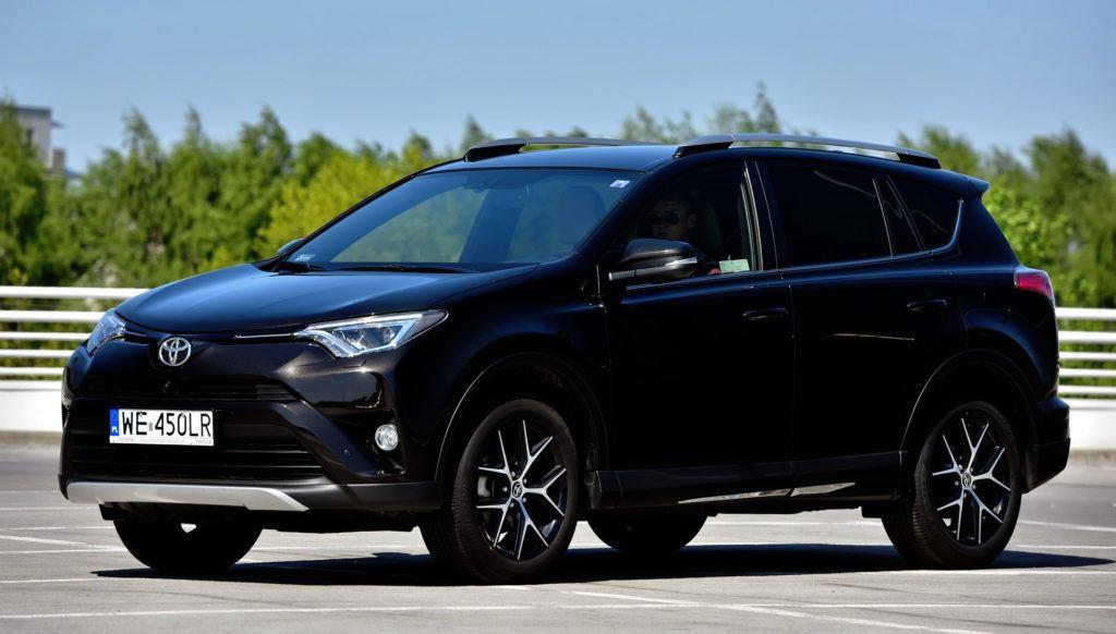 Najmniej diesli - Toyota