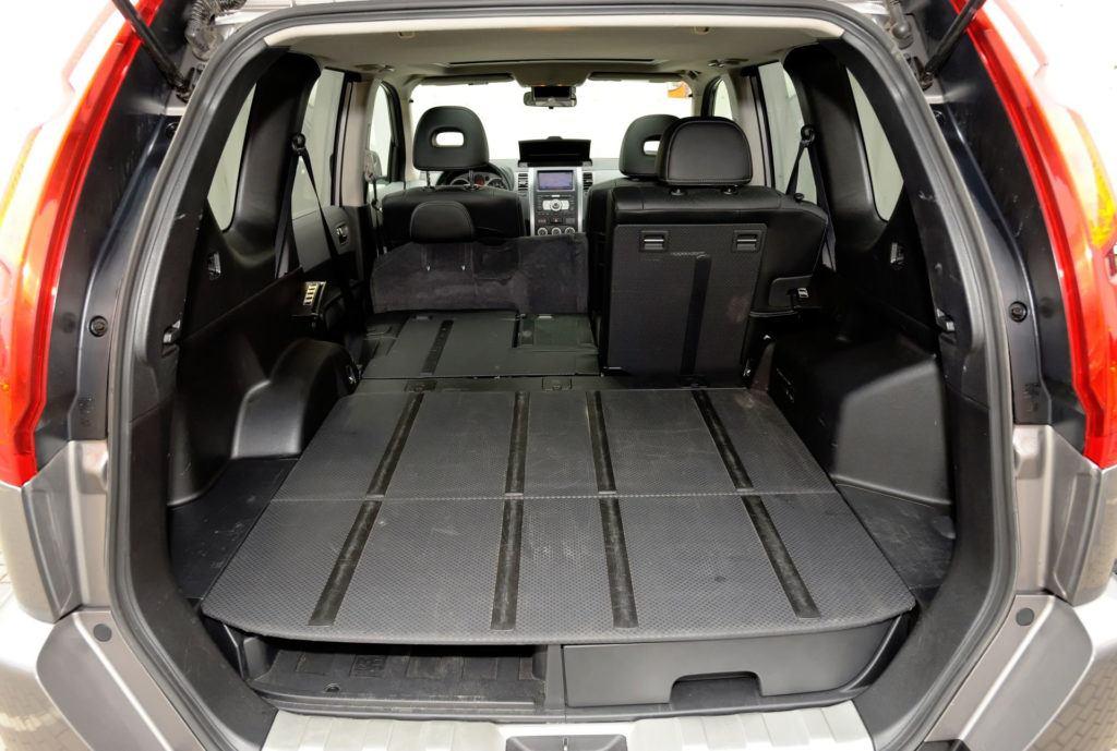 Nissan X-Trail - bagażnik powiększony