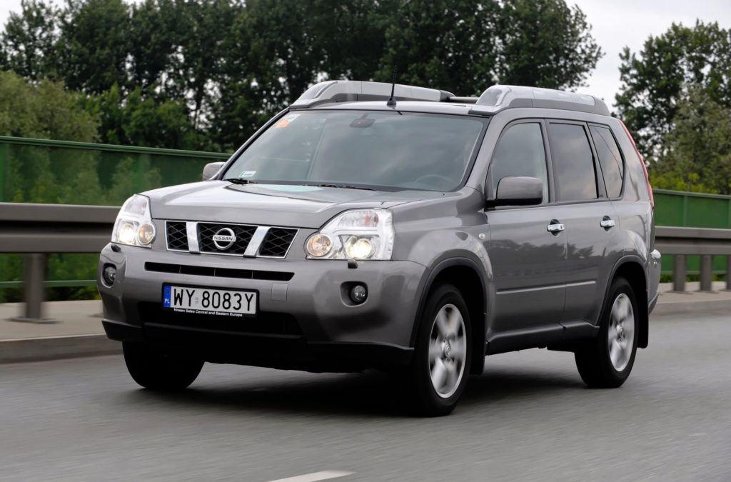 Nissan X-Trail - dynamiczne