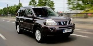 Nissan X-Trail - otwierające