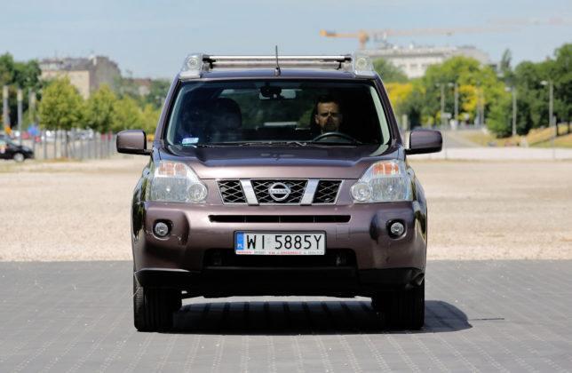 Nissan X-Trail - przód