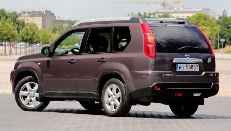 Nissan X-Trail - tył