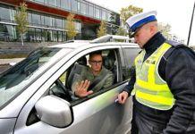 Policja - kontrola drogowa