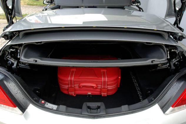 Opel Astra III TwinTop - bagażnik