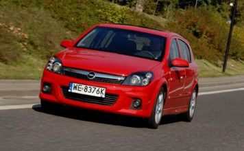 Opel Astra III - otwierające