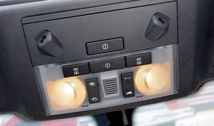 Opel Astra III - przyciski dachu