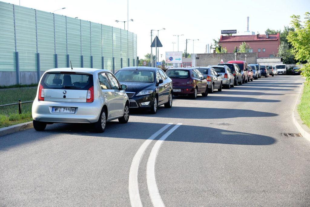 Parkowanie na ulicy