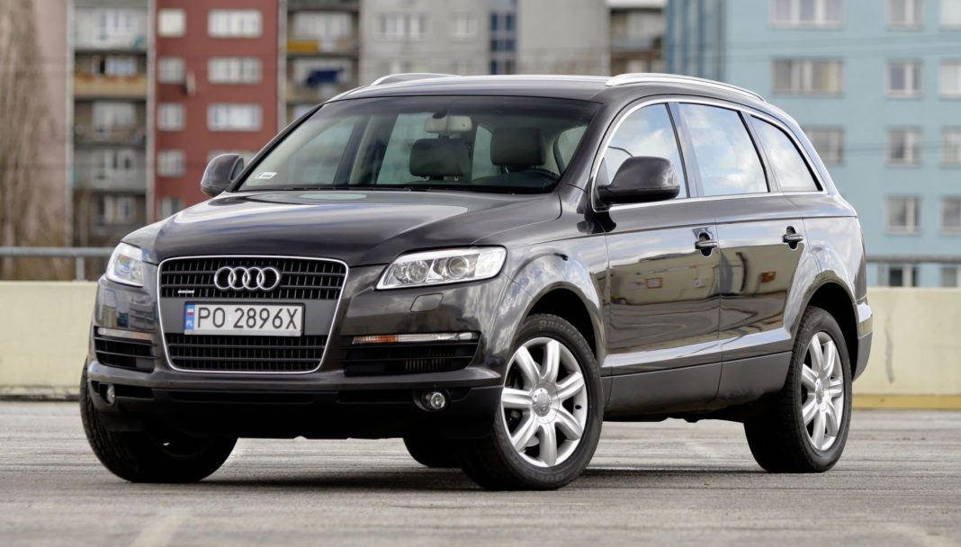 Pojemność bagażnika - najgorszy - Audi Q7